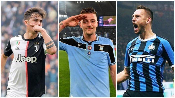 Ketatnya Klasemen Serie A Liga Italia, Inter Milan, Lazio, dan Juventus Lawan Tim Gurem Pekan Ini