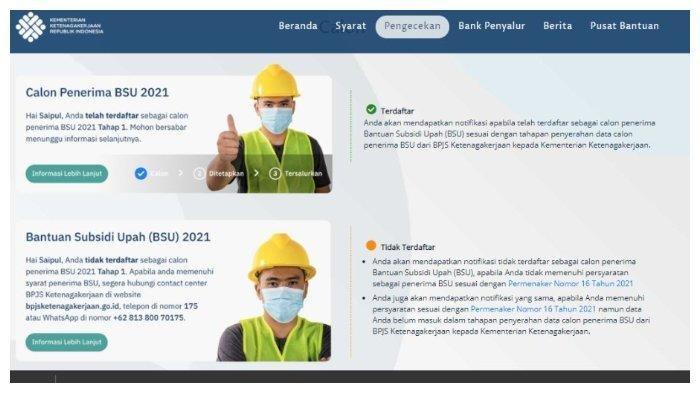 Info Kemnaker, Cara Cairkan BLT BPJS Ketenagakerjaan untuk Karyawan yang Tak Punya Rekening Himbara
