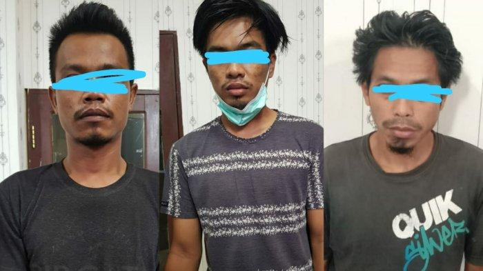 Polres PPU Tangkap 3 Pelaku Penyalahgunaan Sabu, Satu Orang Diduga THL di DPRD Penajam Paser Utara