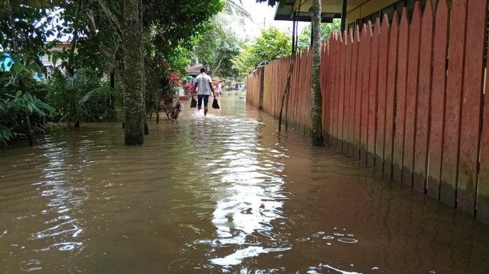 Waspada Banjir, Potensi Hujan Lebat Masih Terjadi di Hulu Sungai Kayan, Begini Penjelasan BMKG