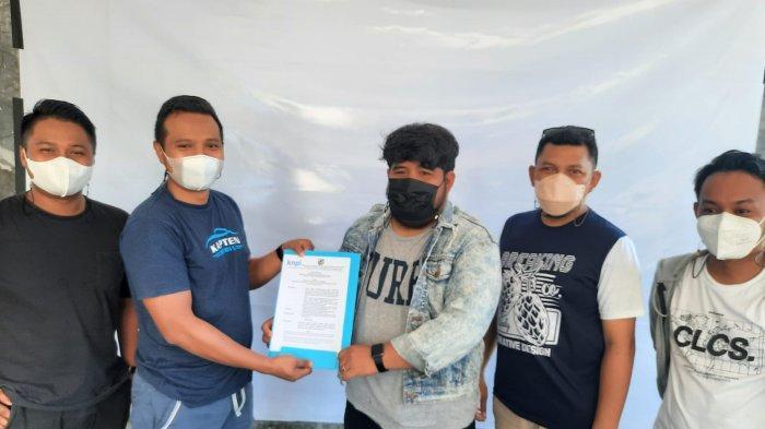 Usai Maratua, DPD KNPI Berau Serahkan SK Karateker Musyawarah Kecamatan Gunung Tabur