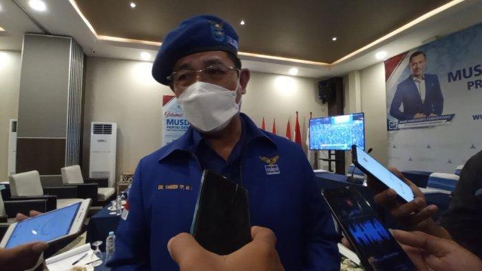 AHY Telpon Yansen Tipa Padan saat Pembukaan Musda II Partai Demokrat Kaltara Berlangsung