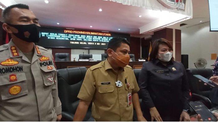 Gelar Raker dengan Dishub dan Ditlantas Polda, Ketua DPRD Kaltara Usulkan Aglomerasi Mudik