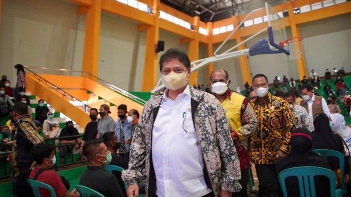 Kunjungi Kalsel, Menko Airlangga Pastikan Sinergi dan Kolaborasi Dalam Penanganan Pandemi Covid-19