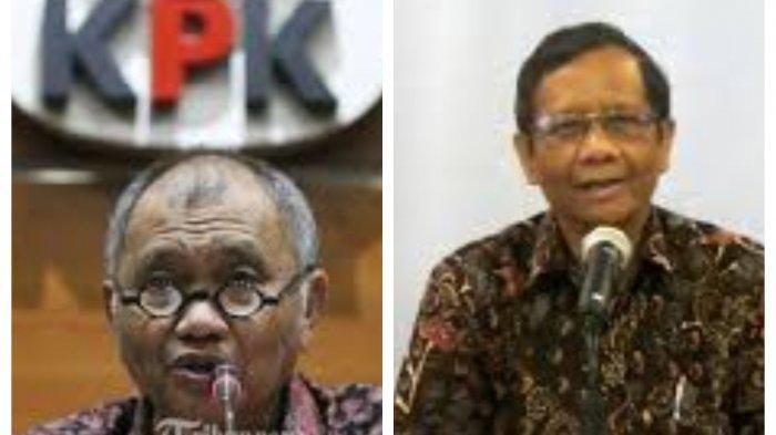 Ketua KPK Agus Rahardjo Sebut Mahfud MD Tak Jelas Soal Laporan Korupsi Presiden Jokowi, Negeri Rumor