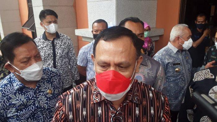 Disinggung Kemungkinan Adanya OTT di Kaltim, Begini Reaksi Ketua KPK Firli Bahuri