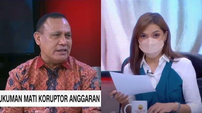 Firli Bahuri Disindir Habis di Mata Najwa, Reaksi Najwa Shihab saat Video Ketua KPK Diputar Ulang