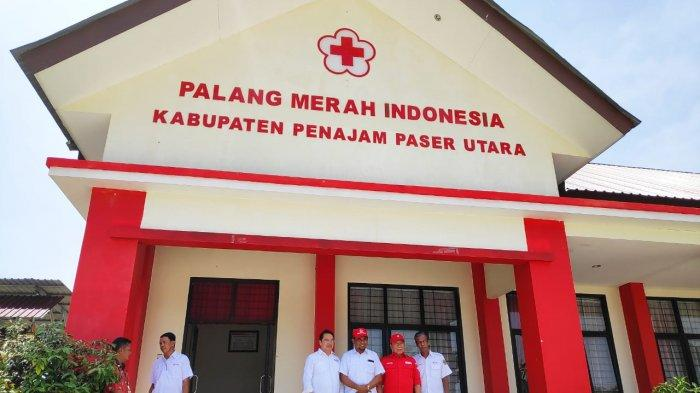 Pengurus PMI Pusat Minta Gedung PMI Penajam Paser Utara Ditambah Ornamen Khas Budaya Daerah