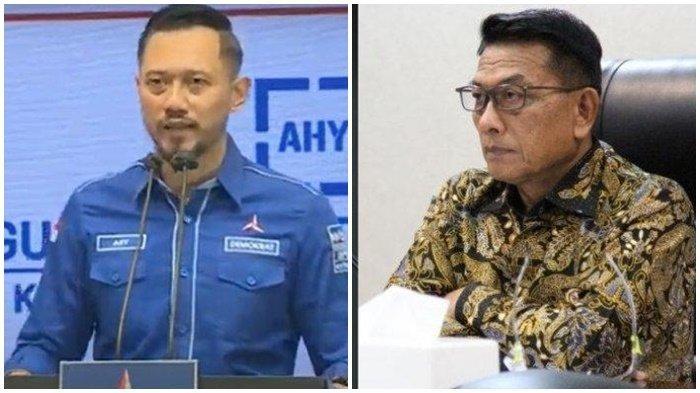 Reshuffle Kabinet Jokowi jadi Peluang Partai Demokrat Merapat, Perintah AHY tak Main-main, Moeldoko?