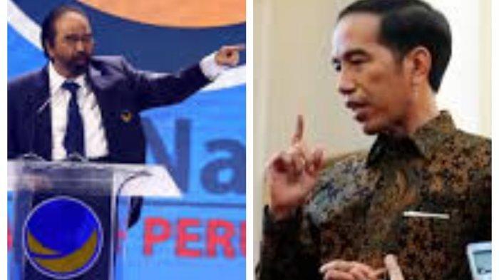 Kesal Pelukan Sohibul Iman PKS Dicurigai, Surya Paloh Balas Jokowi, Sebut Diskursus Politik Picisan