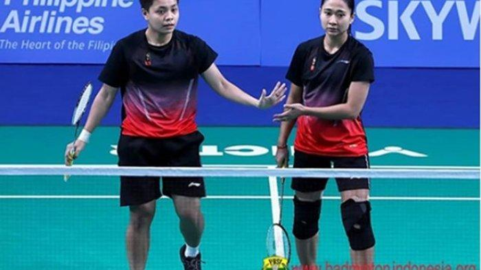 Skor Sementara Indonesia vs Thailand 1-1 Link Live Streaming Badminton Asia Team Championships 2020