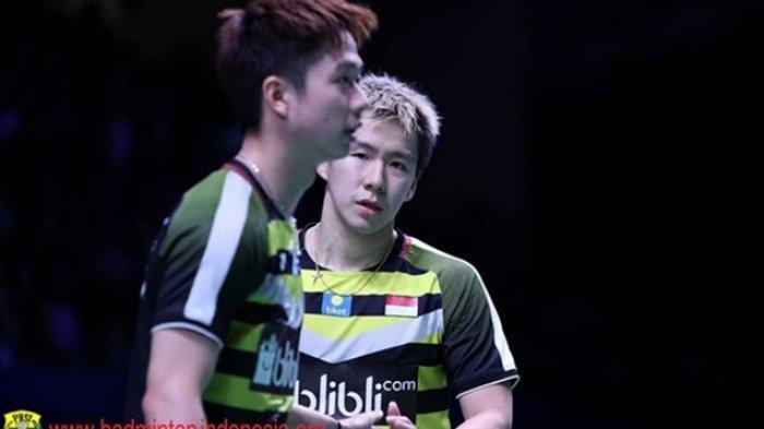 SEDANG TAYANG, Link Live Streaming BWF World Tour Finals 2018, Kesempatan Terakhir Marcus/Kevin