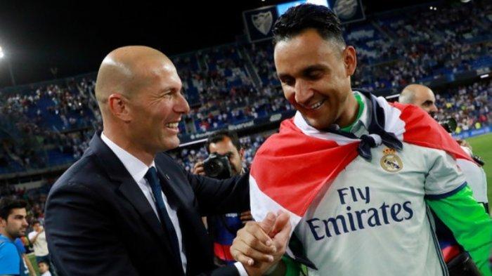 Zinedine Zidane Tentukan 2 Kiper Utama Real Madrid Musim Depan, Keylor Navas 'Turun Kasta'