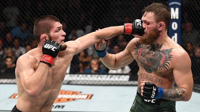 Conor McGregor Tantang Khabib Nurmagomedov Comeback ke UFC, The Eagle Pilih Jadi Pesepak Bola