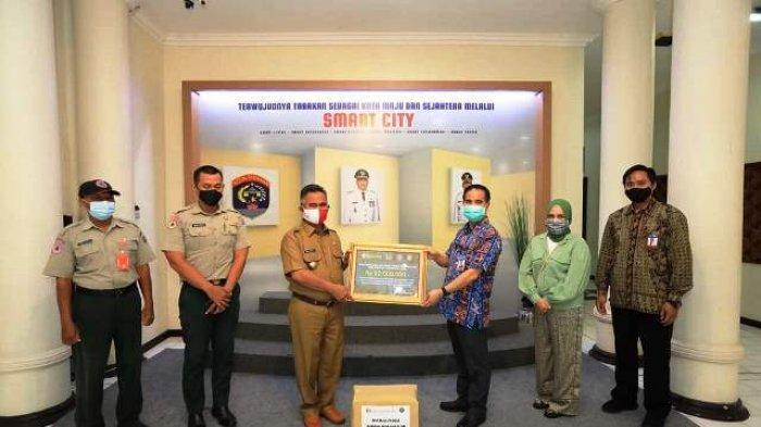 Walikota Terima Bantuan dari Bank Indonesia Perwakilan Kaltara untuk Korban Tanah Longsor Tarakan