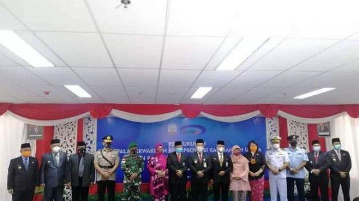 Hadiri Pengukuhan Kepala BPKP Kaltara, Walikota Khairul: Yakin Mampu Emban Tugas dengan Baik