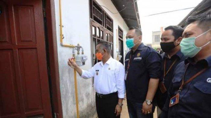 5000 Sambungan Jargas Rumah Tangga Rampung di 2020, Walikota Harap Layanan Sampai ke Pesisir
