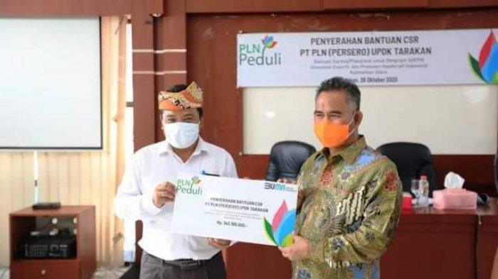 Hadiri Penyerahan CSR PT PLN UPDK Tarakan, Khirul Sebut Pentingnya Sinergitas Majukan UMKM Tarakan