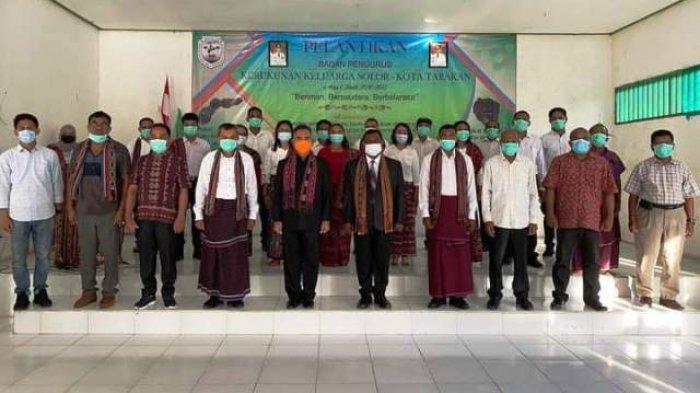 Hadiri Pelantikan Pengurus Kerukunan Keluarga Solor Tarakan, Walikota Ajak Bersama Bangun Kota Ini