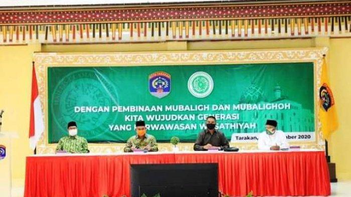 Walikota Hadiri Pembinaan Mubalig dan Mubaliqoh Se-Kota Tarakan
