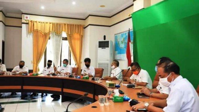 Walikota Tarakan Pimpin Rapat Persiapan, Bahas Raperda RTRW Tarakan