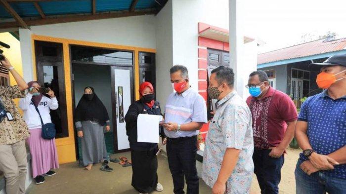 670 KK Warga Tarakan Dapat Bantuan Stimulan Perumahan Swadaya dari Pemerintah Pusat