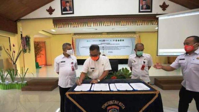 Walikota Khairul Teken Kesepakatan Bersama Pemprov Kaltara Terkait Mal Pelayanan Publik