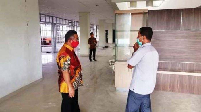 Tinjau Lokasi MPP, Walikota Sebut Bakal Jadi Unggulan Pemkot Tarakan