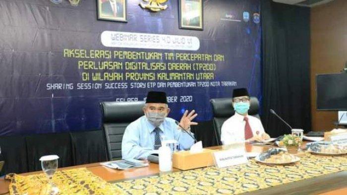 Walikota Tarakan Beber Kunci Sukses Sebagai Kota Pertama di Indonesia Timur yang Terapkan TP2DD