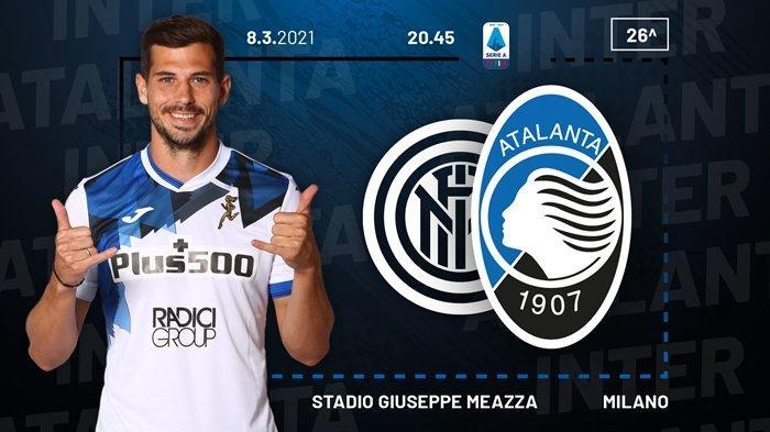 Hasil Liga Italia, Inter Milan Sukses Jauhi AC Milan, Duet Romelu Lukaku -  Lautaro Dikunci Atalanta