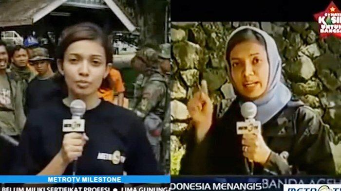 KILAS BALIK Najwa Shihab saat Meliput Tsunami Aceh 15 Tahun Silam, Momen Paling Sulit Dilupakan