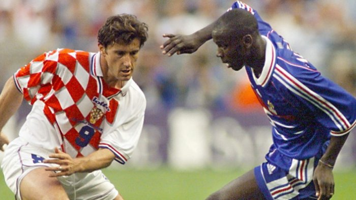 Video Kilas Balik Perancis Menang 2-1 Atas Kroasia di Semifinal Piala Dunia 1998