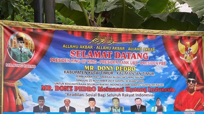 King of The King Kalimantan Timur Muncul 6 Bulan Lalu, Pusatnya SangattaDijanjikan Uang Rp 3 Miliar