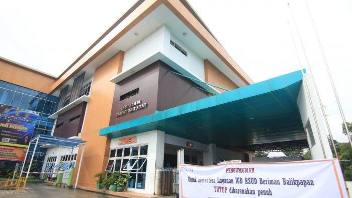 RSUD Beriman Khusus Pasien Covid-19, Satgas Bersurat ke RS di Balikpapan