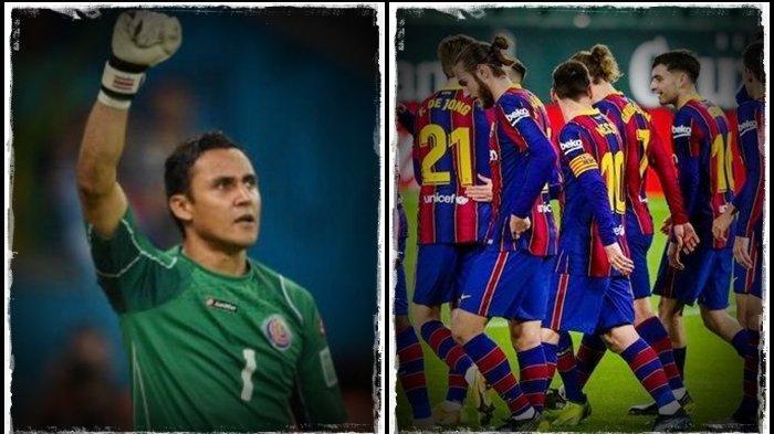 Jadwal Liga Champions Barcelona vs PSG, Kutukan Keylor Navas, Peluang Besar Messi Cs Cetak Gol