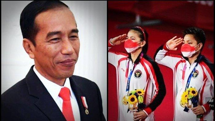 Makna Medali Emas Greysia Polii/Apriyani Rahayu di Olimpiade Tokyo 2020 Bagi Presiden Jokowi