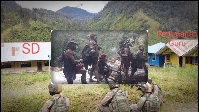 KKB Papua Kembali Lakukan Aksi Brutal Bakar Puskesmas dan Sekolah di Distrik Ilaga, Juga Rusak Jalan