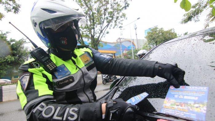 Gencarkan Zero Tolerance Sepanjang Jalan Jenderal Sudirman Balikpapan, Polisi Gelar Sosialisasi