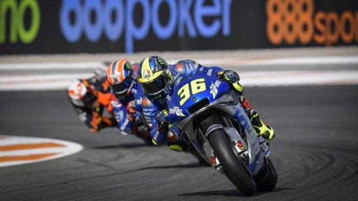 Klasemen MotoGP 2020, Joan Mir Perlu Satu Kemenangan Lagi untuk Kampiun, Rins Geser Maverick Vinales