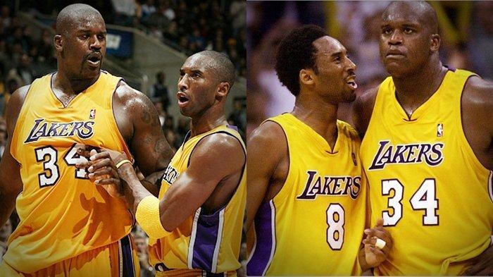 Nyaris Baku Hantam, Shaquille O'Neal Bongkar Hubungannya dengan Kobe Bryant Sejak di LA Lakers