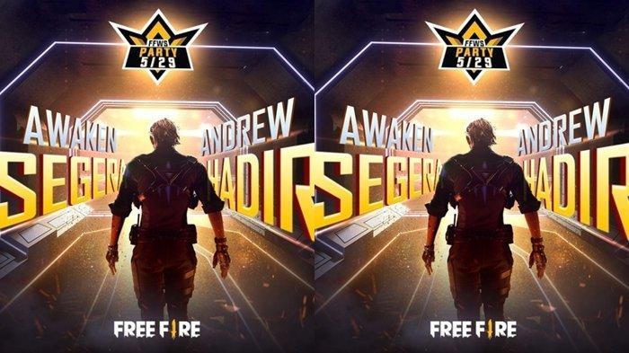 UPDATE Kode Redeem FF 14 Mei 2021, Ada Karakter Meta Baru, Awakening Andrew Segera Hadir