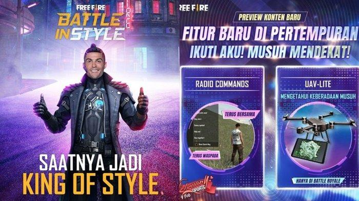 Kode Redeem FF 2 Februari 2021, Ada Elite Pass Season 21? Fitur Baru dan Free Fire Battle in Style