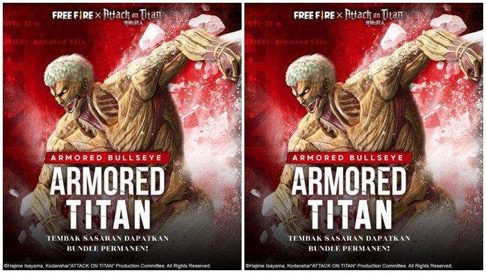 Kode Redeem FF Rabu 17 Maret 2021, Armored Titan Kini Hadir di Free Fire, Misi Supermaret Masih Ada