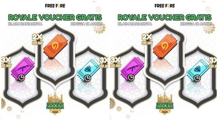 Kode Redeem Free Fire 15 April 2021, Buruan Login, Gratis Voucher Diamond Royale, Weapon & Incubator