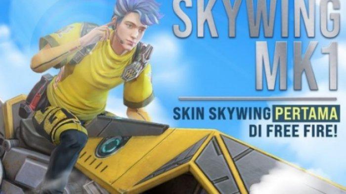 Kode Redeem Free Fire 20 April 2021, Top Up Bonus Skywing MK1, KO Night Burn dan Magic Cube Exchange