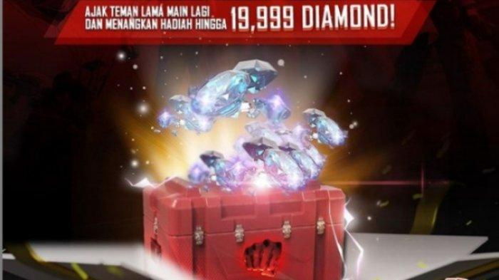 Kode Redeem Free Fire 24 Januari 2021, Friends Call Back Hadiah One Punch Man Box & 19.999 Diamond
