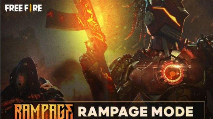 Kode Redeem Free Fire 30 April 2021, Diskon Spin Pertama Incubator Safari Riot & Rampage Mode Dibuka
