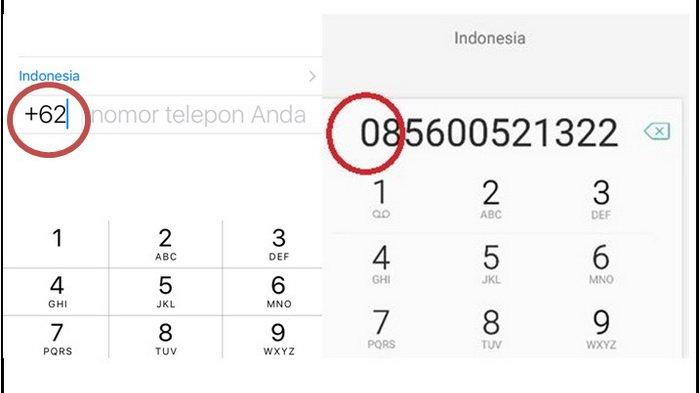 Perbedaan Fungsi Kode 0 dan +62 pada Awal Nomor Telepon, Berikut Penjelasannya