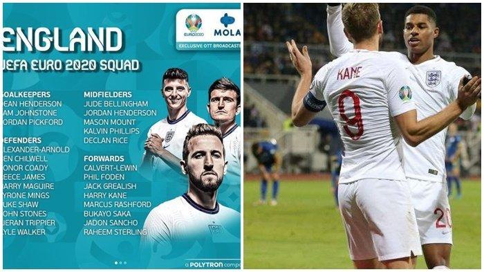 Penyisihan Grup D Euro 2020 Inggris vs Kroasia, Link Live Streaming RCTI dan Mola TV
