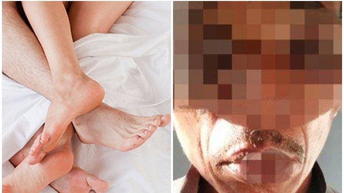 Pria Tua Ini Tujuh Kali Tiduri Anak Kandung Sendiri,Ini Respon Istri, Ancaman Penjara Seumur Hidup